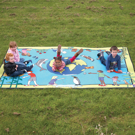 Children of the World Outdoor Carpet  large