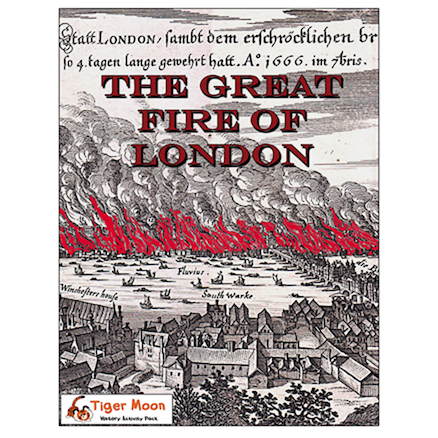 The Great Fire of London Photo Activity Pack  large