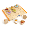 Wooden Shape Sorter Board 10pcs  small