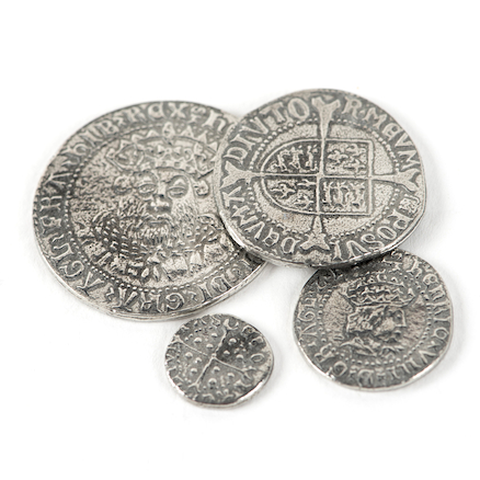 Coins From The Reigns of Henry VII and Henry VIII  large