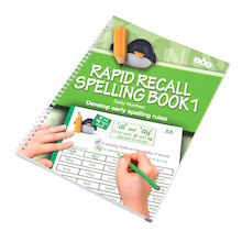 Rapid Recall Spelling Activity Book  medium