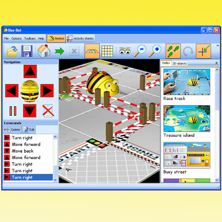 Bee\-Bot\u00ae Activities 1 Software  large