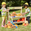 Outdoor Construction Activity Bench  small