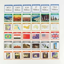 Pocket Dice Cards World Countries  medium