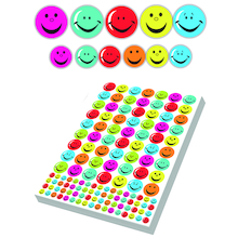 Assorted Smiley Face Stickers 3930pk  medium