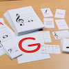 A5 Music Playing Cards  small