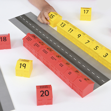 1-20 Number Street Houses - 20pk  medium