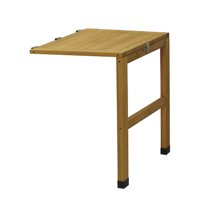 Classic Veg Trug Side Table Natural Wood  large