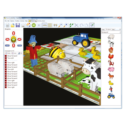 Focus On Bee\-Bot\u00ae Activities 2 Software  large