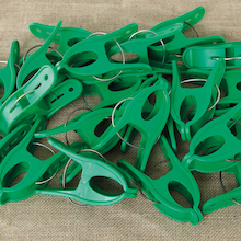 Giant Pegs Green 20pk  medium