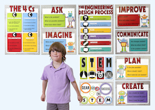 STEM Poster Set  medium