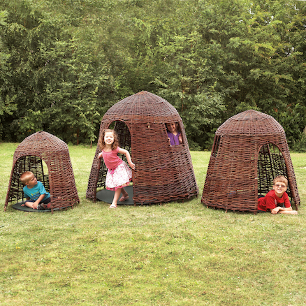 Willow Huts Buy All and Save  large