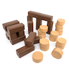 Role Play Foam Lumberjack Logs 30pcs  small