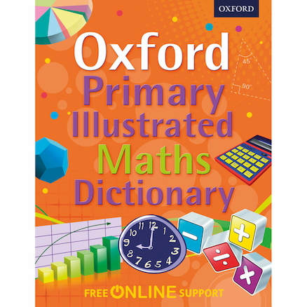 Oxford Primary Illustrated Maths Dictionary  large