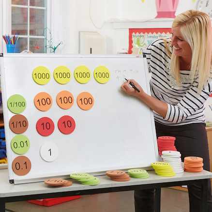 Foam Place Value Counters Teacher Version 120pcs  large