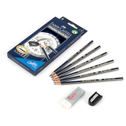 Faber\-Castell Goldfaber Graphite Sketch Set  large