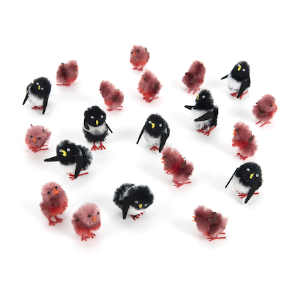 Robins \x26 Penguins Decorations  large