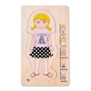 Wooden Layered Jigsaw \- Girl   small