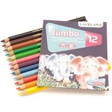 Lakeland Assorted Jumbo Colouring Pencils 144pk  medium