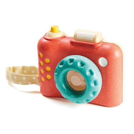 My First Wooden Toy Camera  large