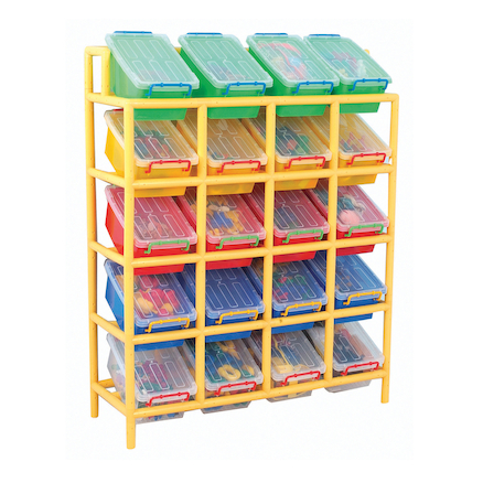 Rainbow 20 Tilt Bin Storage Unit  large