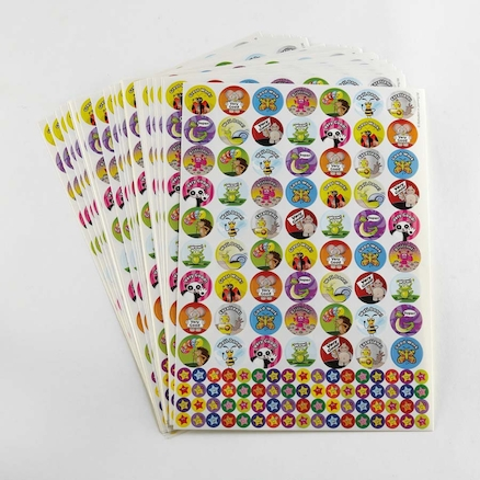 Assorted Animal Praise Stickers 3930pk  large