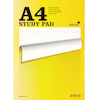 A4 Lined Study Notepad 80 Sheets 5pk  small