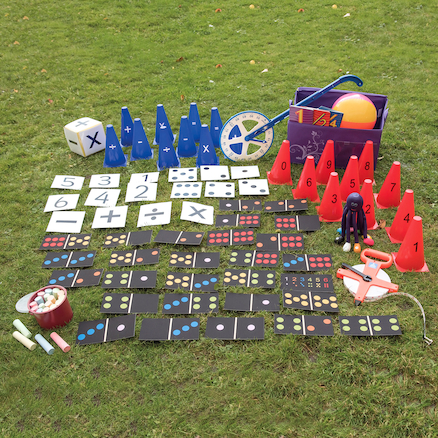Maths Outdoor Grab And Go Kit KS2  large