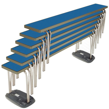 Premier Dining Stacking Benches  large