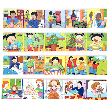 Story Sequencing Jigsaws 8pk  large