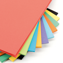 Intensive Coloured Card Assorted 230 Micron  medium