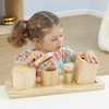 Wooden Discovery Boxes with Lids for Toddlers  small