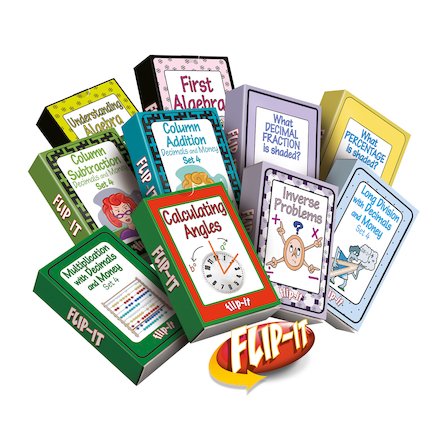 Flip\-It Dyscalculia Activity Cards Set 3  large