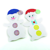 Giant White Card Display Snowmen  small