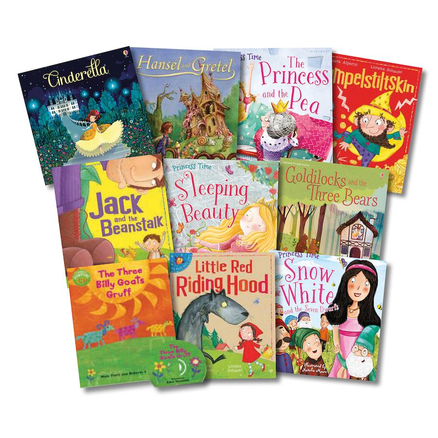 Buy KS1 Traditional Fairy Tales Books 10pk | TTS