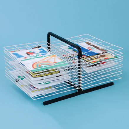 Table Top Art Drying Rack  large
