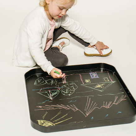 Art Activity Play Trays  large