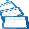 Graded Maths Problem Solving Cards 100pk Set 1  small