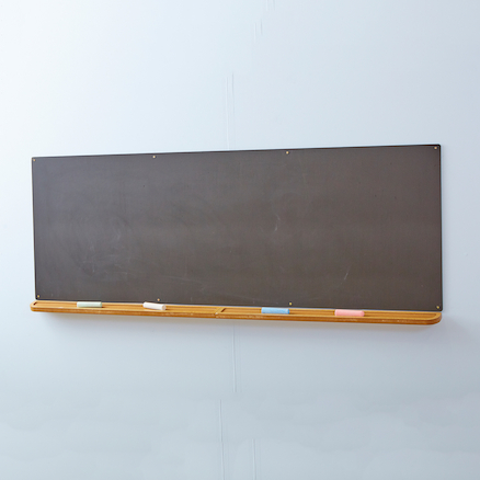 Wall Mounted Long Indoor Outdoor Chalkboard  large