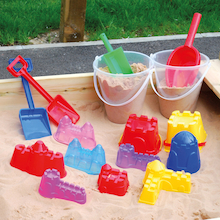 Sand Castle Making Equipment 16pcs  medium