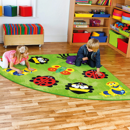 Back to Nature Corner Rug  large