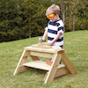 Outdoor Wooden Trestle Frame  small