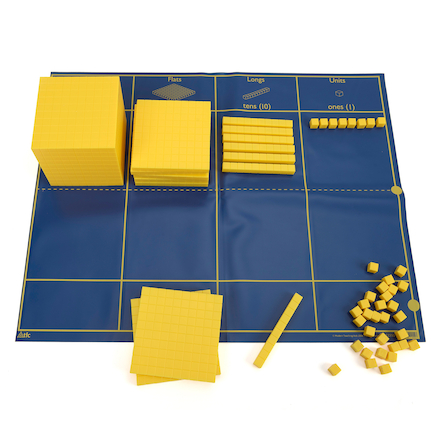 Large Plastic Base Ten Bulk Set 755pc  large
