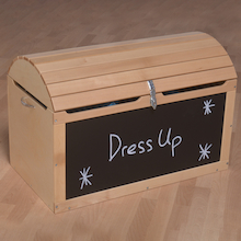 Large Explorer Dress Up Treasure Chest  medium