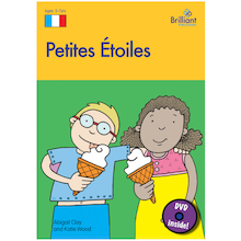 Petites Etoiles French Songs Book and CD  medium