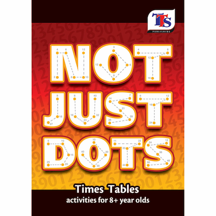 Not Just Dots Times Tables Activity Book  large