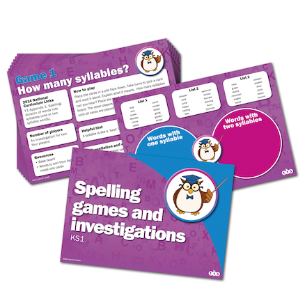 Spelling Activity Cards Group Set  large