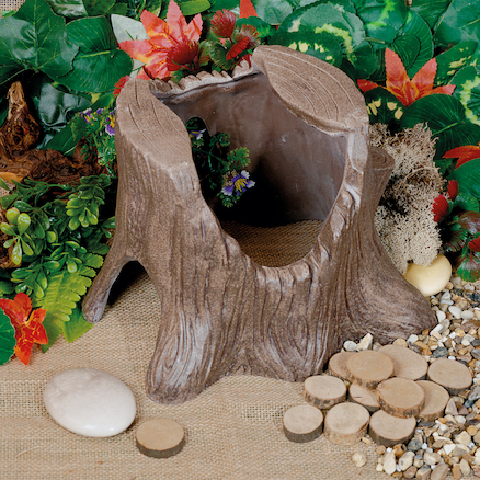 Small World Enchanted Tree Stump  large
