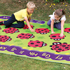 Chloe Caterpillar Outdoor Rug  small