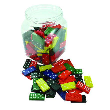 9 Spot Dominoes 54pcs 6pk  large